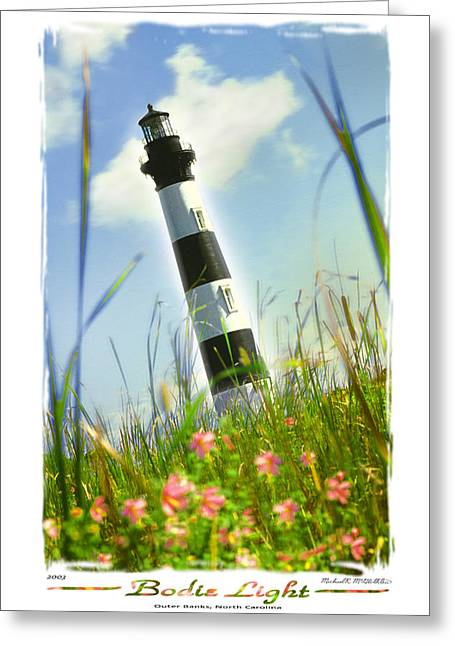 Bodie Light II Greeting Card by Mike McGlothlen