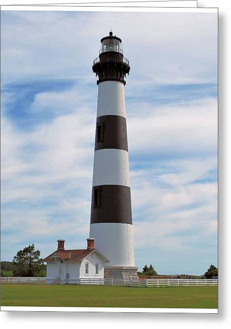 Greeting Card featuring the photograph Bodie Lighthouse by Bob Sample