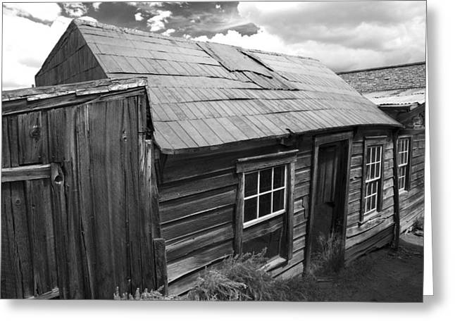 Bodie Row House Greeting Card by Jim Snyder