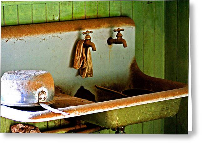 Bodie Water Fixtures Greeting Card