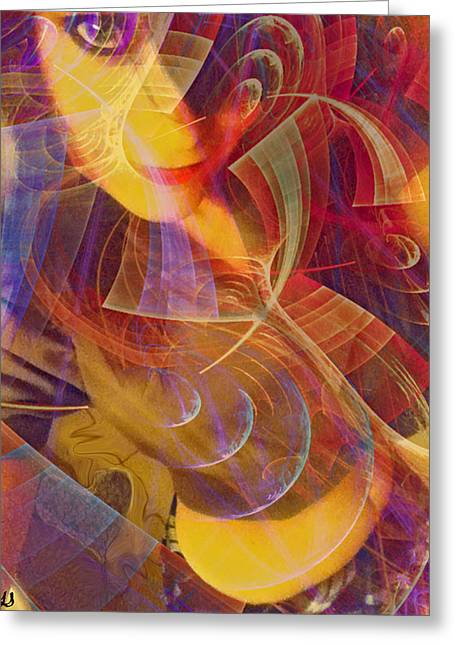 Body Of Art Greeting Card by Linda Sannuti