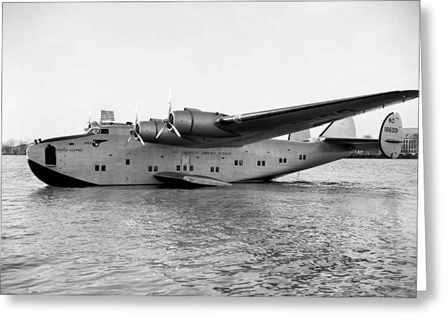 Boeing 314 Clipper 1939 Greeting Card