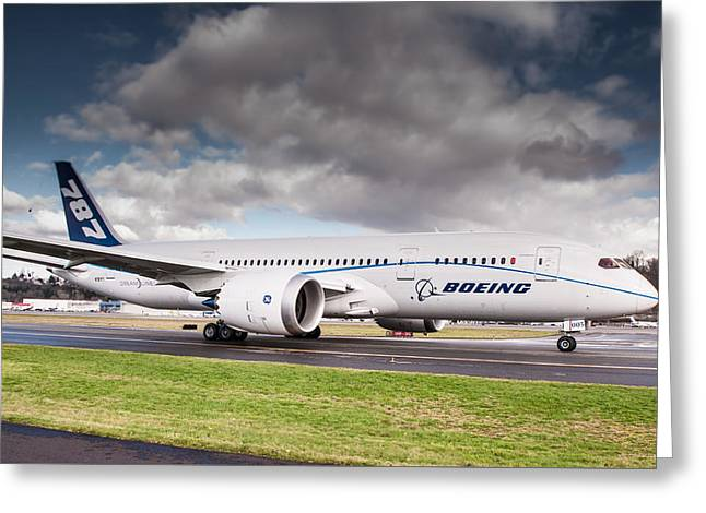 Boeing Dreamliner 787 Greeting Card