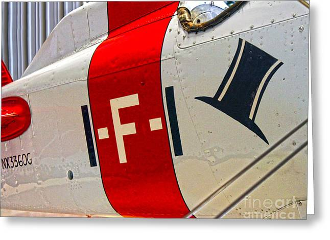 Boeing Fighter 4b-1 -  Close Up Greeting Card by Gregory Dyer