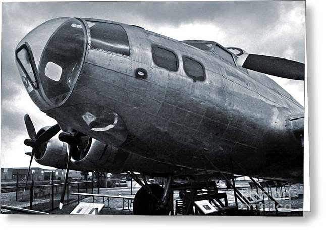 Boeing Flying Fortress B-17g  -  02 Greeting Card by Gregory Dyer