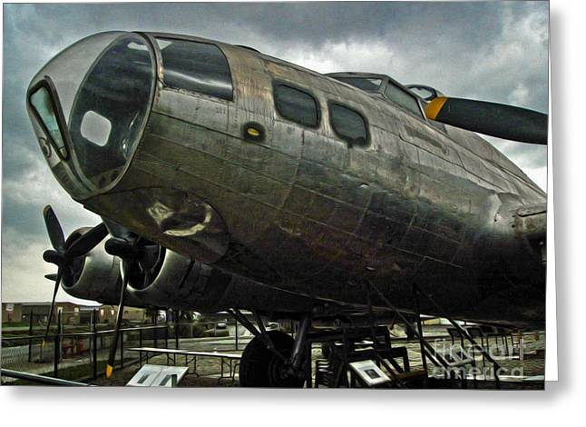 Boeing Flying Fortress B-17g  -  03 Greeting Card by Gregory Dyer
