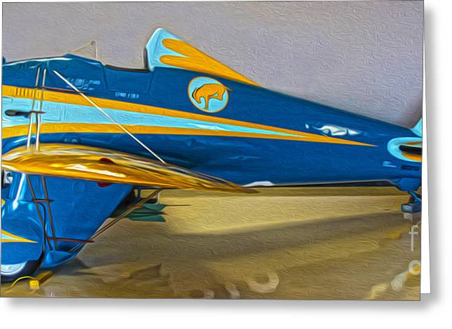 Boeing Peashooter P-26a  -  01 Greeting Card by Gregory Dyer