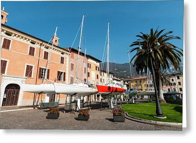 Bogliaco, Lago Di Garda, Lombardia Greeting Card by Sergio Pitamitz