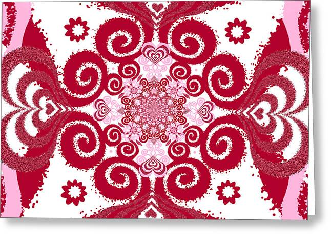Bohemian Love 3 Greeting Card