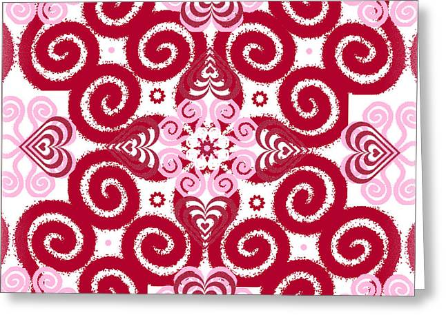 Bohemian Love 4 Greeting Card