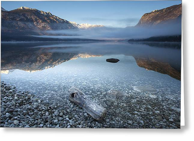 Bohinj's Tranquility Greeting Card by Bor