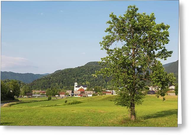 Bohinjska Bistrika, Slovenia Greeting Card