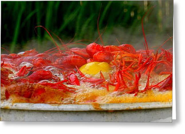 Boiling Crawfish Greeting Card