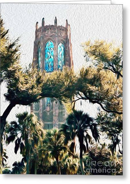 Bok Singing Canopy Tower Greeting Card
