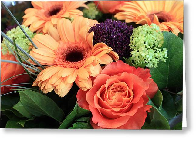 Bold Bouquet Greeting Card