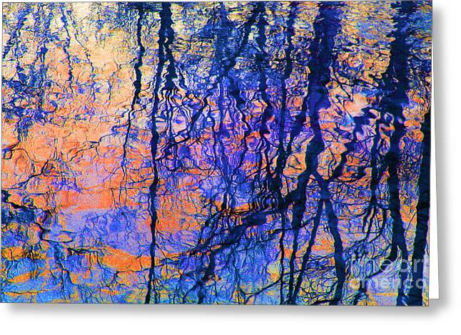 Bold Tree Reflections Greeting Card