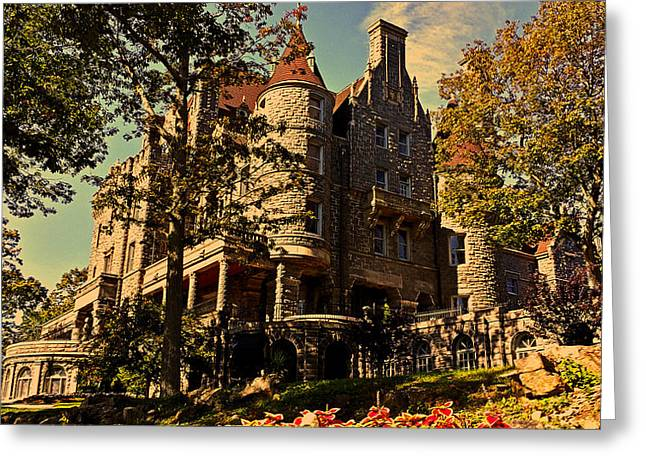 Boldt Castle 001 Greeting Card