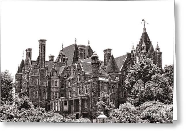 Boldt Castle Greeting Card by Olivier Le Queinec
