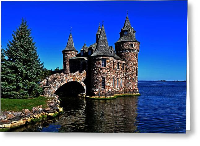 Boldt Castle - Power House 001 Greeting Card
