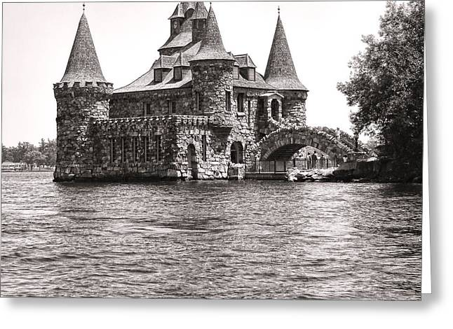 Boldt Castle Power House Greeting Card by Olivier Le Queinec