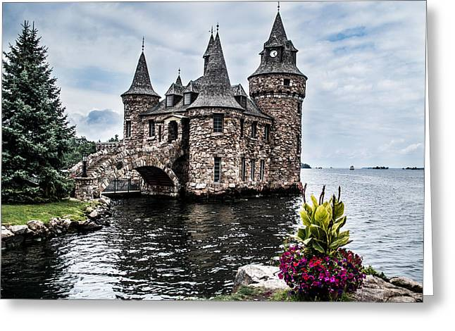 Boldt's Castle Tower Greeting Card
