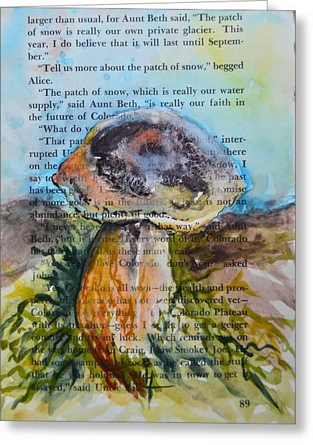 Boletus Edulis Greeting Card by Beverley Harper Tinsley