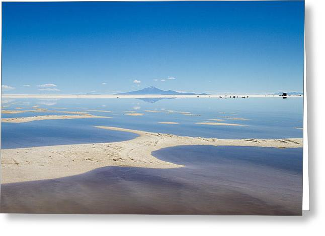 Bolivia Salt Flats Greeting Card by For Ninety One Days