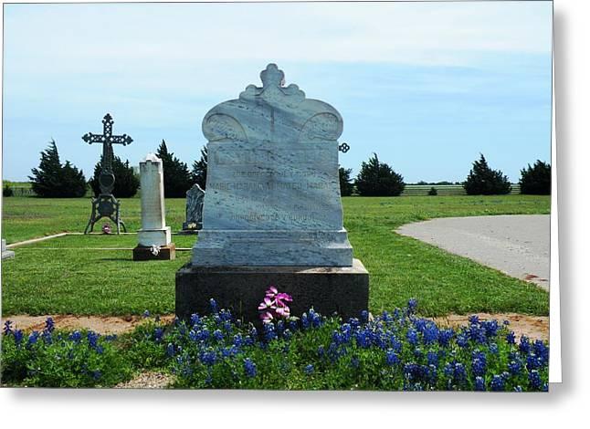 Bomarton Catholic Cemetery 6 Greeting Card