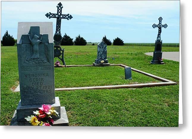 Bomarton Catholic Cemetery 7 Greeting Card