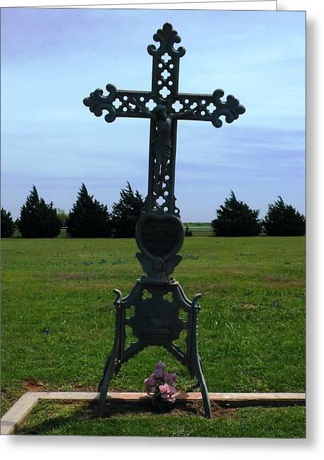 Bomarton Catholic Cemetery 8 Greeting Card
