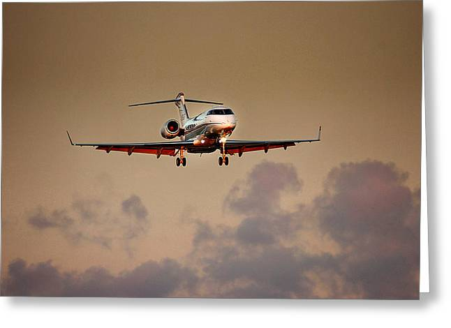 Bombardier Bd100 Greeting Card