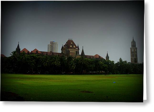 Bombay High Court Greeting Card by Salman Ravish