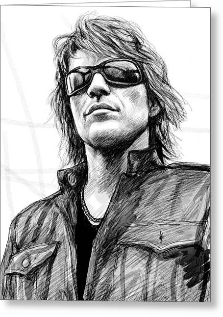 Bon Jovi Greeting Cards – Bon Jovi Birthday Card