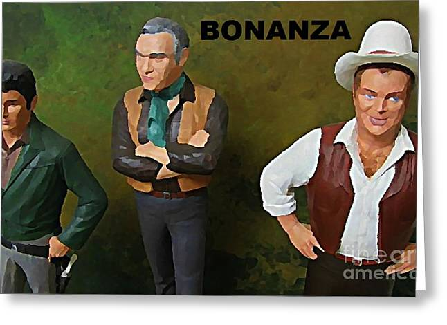 Bonanza Greeting Card