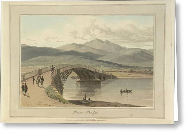 Bonar Bridge In The Kyles Of Sutherland Greeting Card