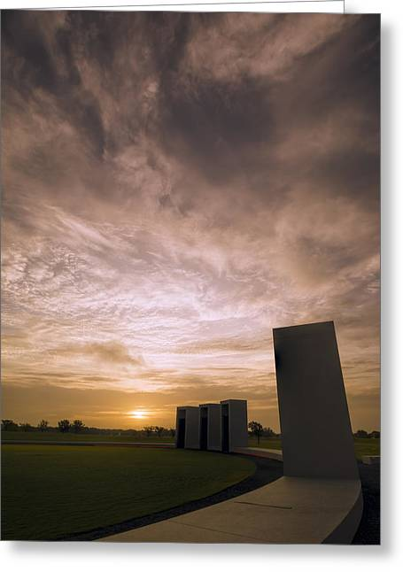 Bonfire Memorial Greeting Card