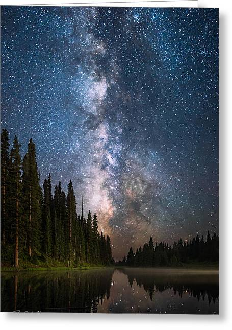 Bonfire Of The Stars Greeting Card