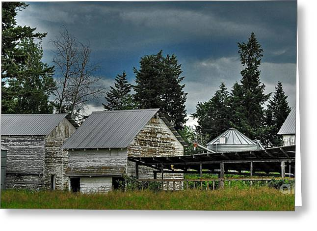 Bonners Ferry Farm Greeting Card