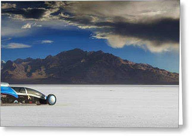 Bonneville 608 Greeting Card by Keith Berr