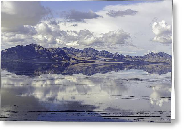 Bonneville Salt Flats Greeting Card