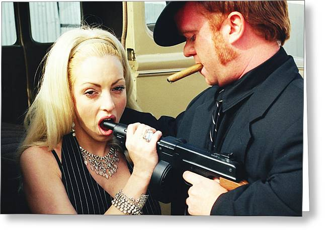 Bonnie And Clyde 13 Greeting Card