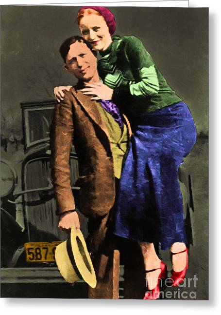 Bonnie And Clyde 20130515 Greeting Card