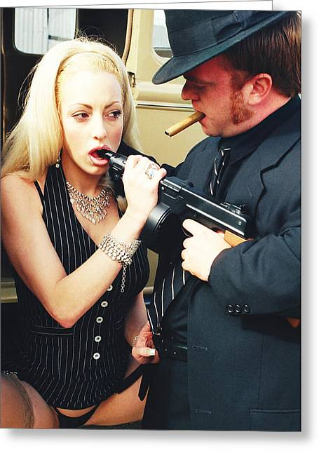 Bonnie And Clyde 24 Greeting Card