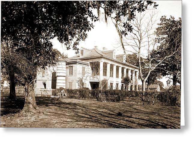 Bonzano House, Jacksons Headquarters, Chalmette, Jackson Greeting Card