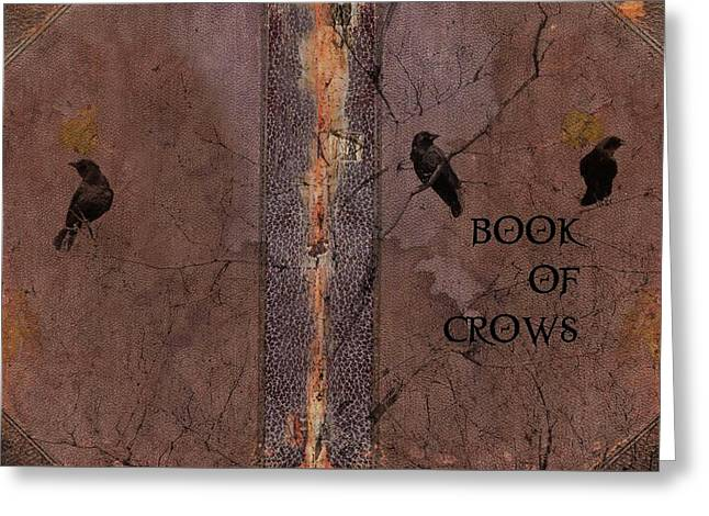 Book Of Crows Greeting Card