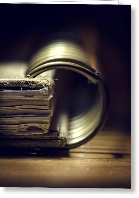 Book Of Secrets Greeting Card