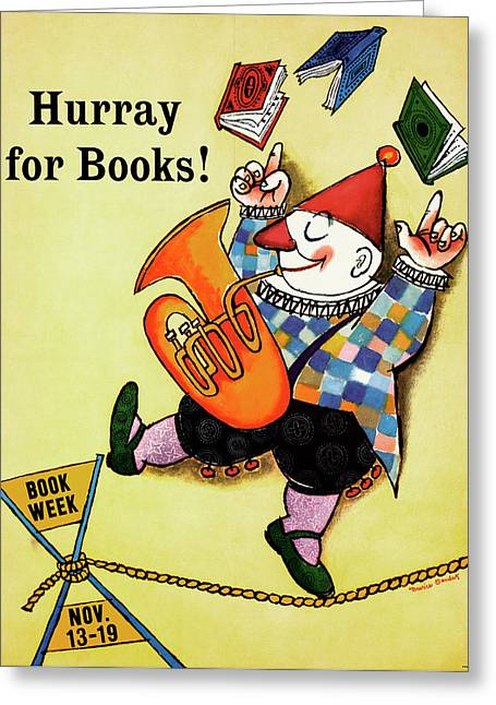 Book Week, 1960 Greeting Card