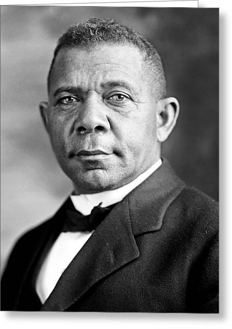 Booker T Washington Greeting Card