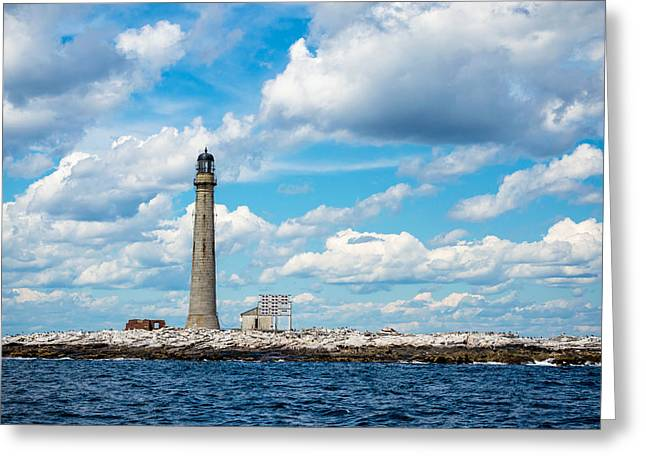 Boon Island Light Station Greeting Card