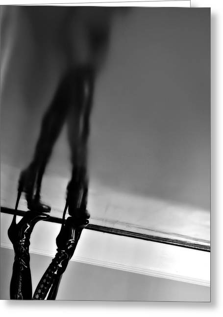 Boot Reflections Greeting Card by Houston Smith
